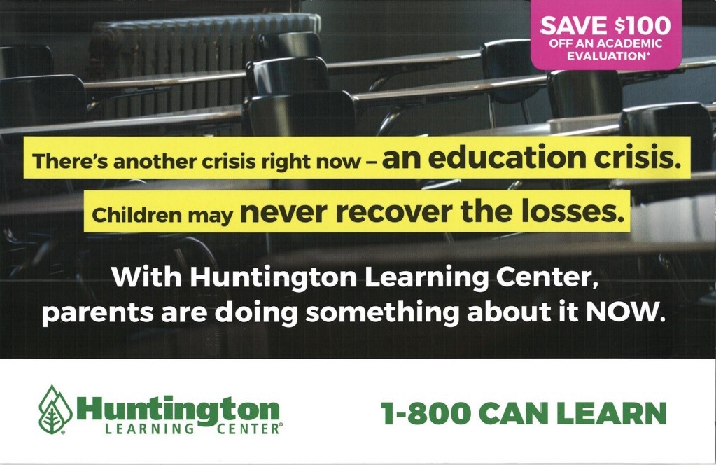 huntington learning center back to school direct mail marketing trends