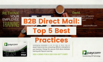 B2B Direct Mail: Top 5 Best Practices