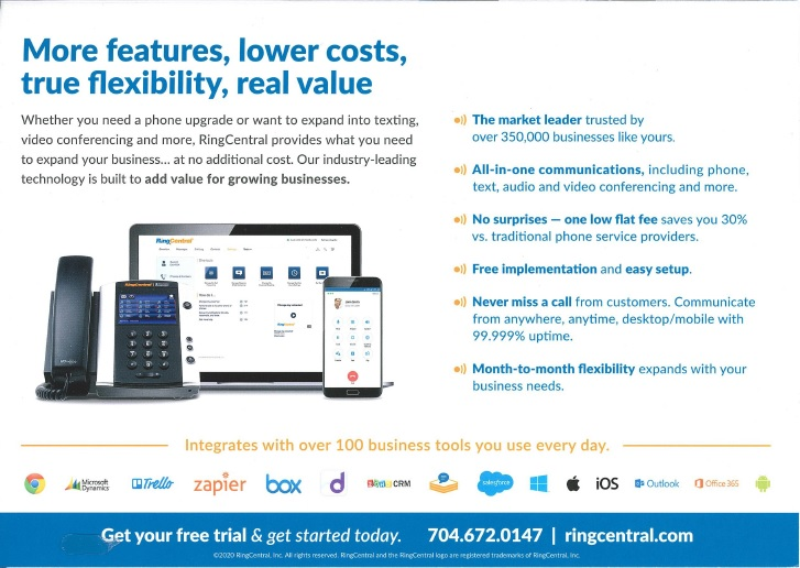 ringcentral direct mail