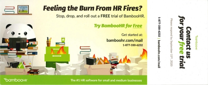 bamboohr direct mail