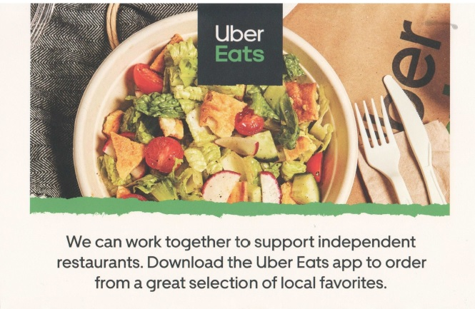 uber eats direct mail