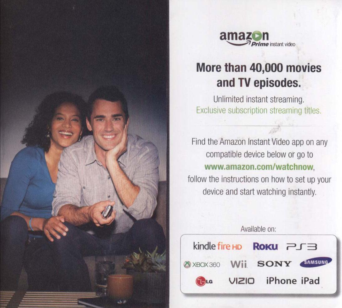 amazon direct mail prime video