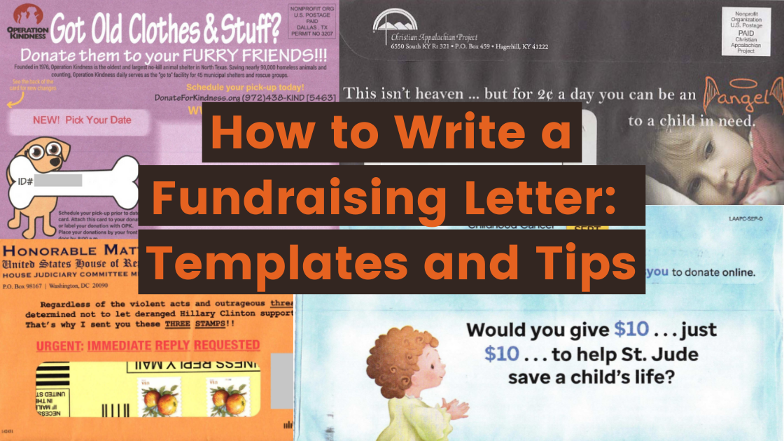 how to write a fundraising letter 5 free fundraising letter templates