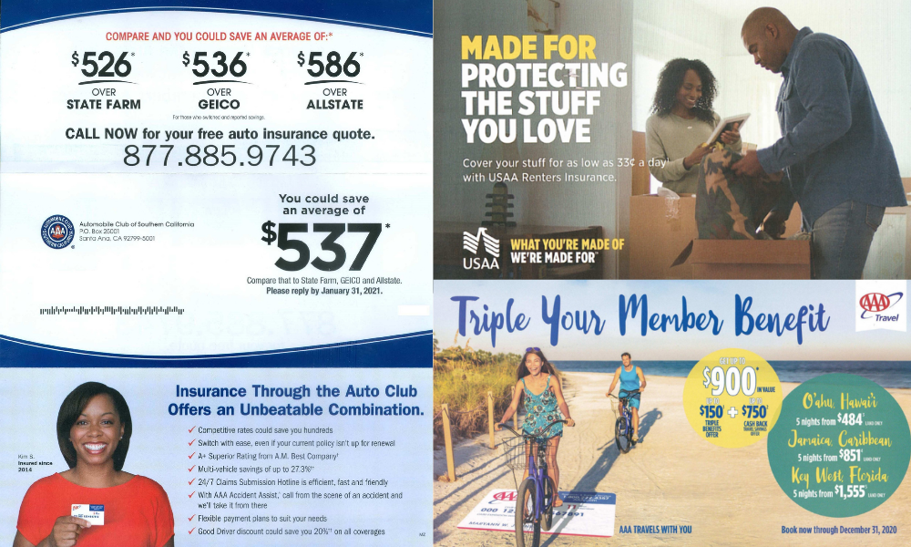 Insurance Direct Mail Marketing