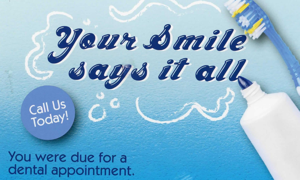 dental postcard marketing direct mail