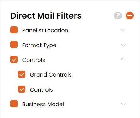 Controls filter