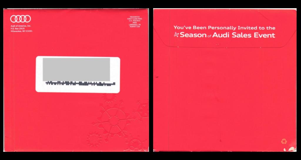 Red envelope audi