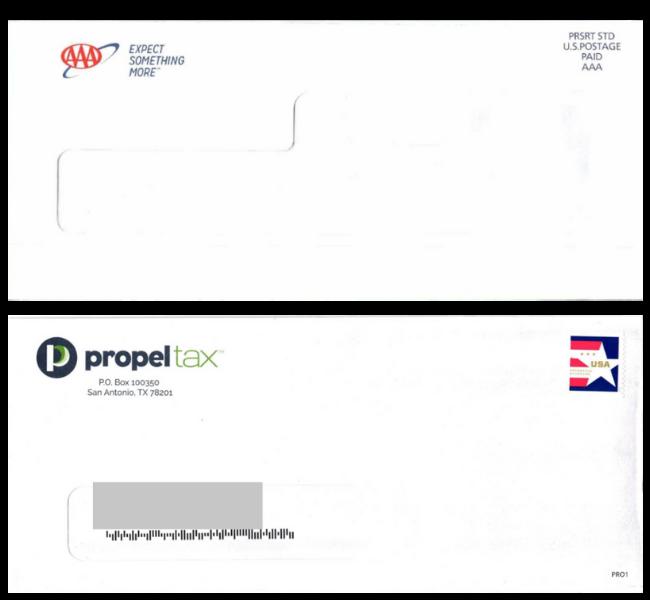 blind envelope