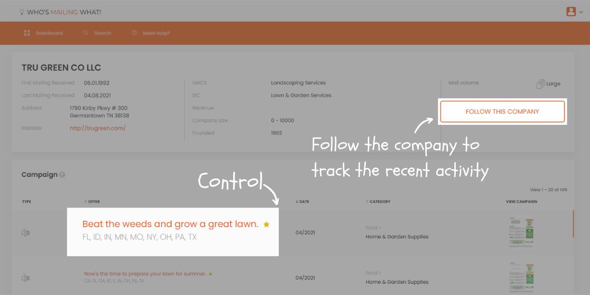 explore company's profile
