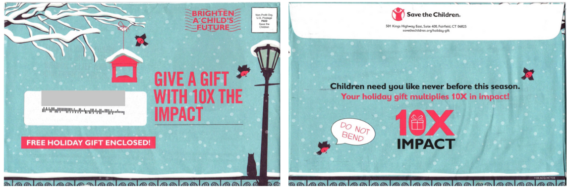 gift enclosed envelope