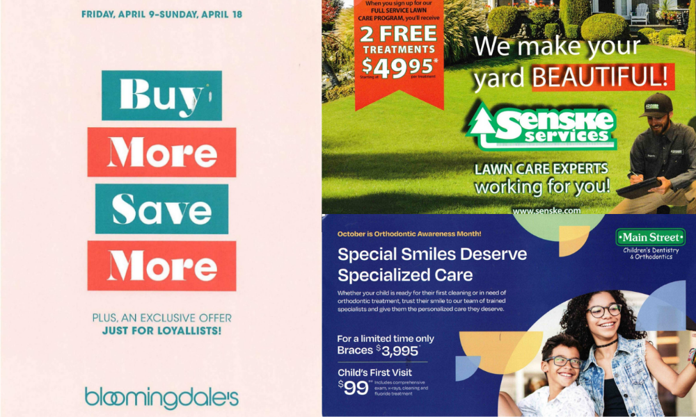 how to design a top performing direct mail template