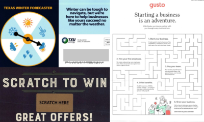 Interactive Direct Mail Ideas