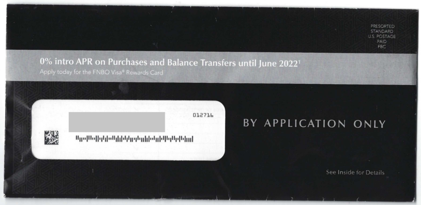 bank of omaha direct mail