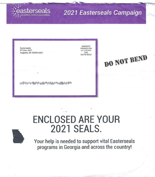 Easterseals direct mail