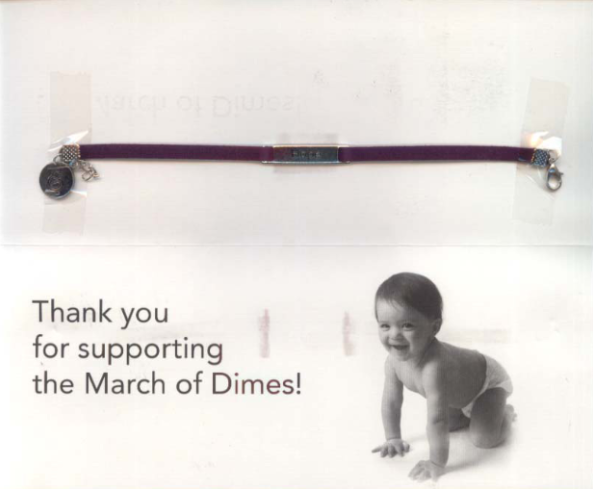 March Of Dimes direct mail