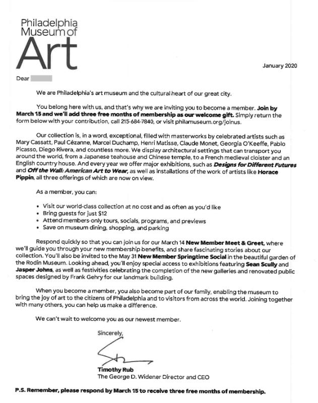 Museum of Art Philadelphia 2020