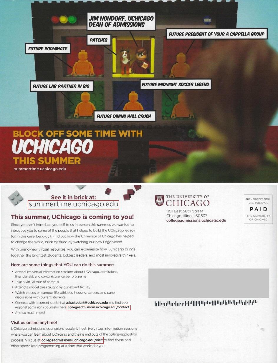 University of Chicago postcard