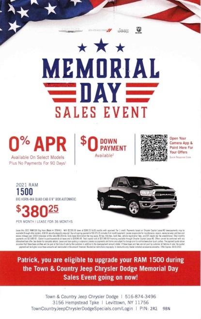 Dodge automotive direct mail