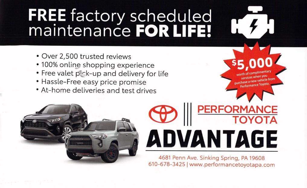 Toyota automotive direct mail
