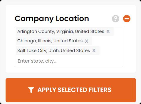 company location filter